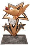 Resin Figure - Knowledge Academic Accolade Statue Trophy Awards