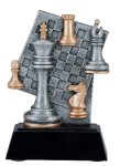 Resin Figure - Chess Academy Shield Trophy Awards