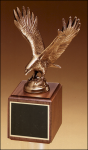 Fully Modeled Antique Bronze Eagle Casting Achievement Award Trophies