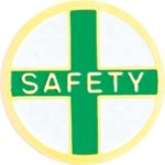 Safety Pin Chenille Lapel Pins