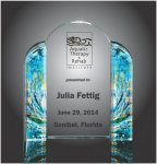 Color Tower Award Colored Acrylic Awards