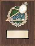 Swimming Resin Plaque Mount Award Economy Plaques