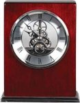 Rosewood Piano Finish Square Clock Employee Awards