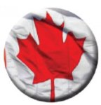 Ball Marker Canada Flag Golf Awards