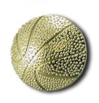 Basketball Chenille Letter Pin Lapel Pins