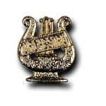 Orchestra Chenille Letter Pin Lapel Pins