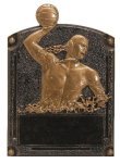 Water Polo Male Legends of Fame Award Legends of Fame Resin Trophy Awards