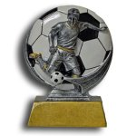Soccer - Male MXG5 Colorful Resin Trophy Awards