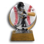 T-Ball - Female MXG5 Colorful Resin Trophy Awards