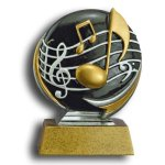 Music MXG5 Colorful Resin Trophy Awards