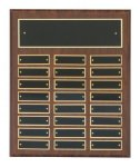 Cherry Finish Perpetual Plaques Religious Awards