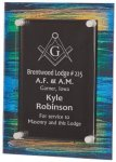 Painted Acrylic Stand-Off Plaque Award Sales Awards