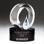 Galaxy Flame Crystal Award Sales Awards