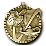 Knowledge Value Medal Scholastic Trophy Awards