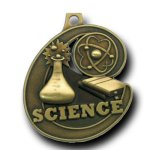 Science Champion Medal Scholastic Trophy Awards