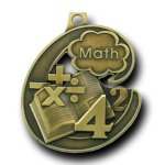 Math Champion Medal Scholastic Trophy Awards