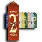 Science - 2nd Place Ribbon Scholastic Trophy Awards