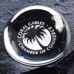 Magnifier Paper Weight Secretary Gift Awards