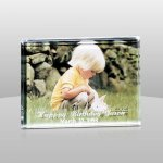 Acrylic Slide In Picture Frame Square Rectangle Awards