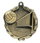 Wreath Volleyball Medals Wreath Awards