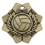 Imperial Volleyball Medals Wreath Medal Awards